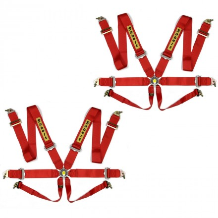 Sabelt Clubman Saloon 6 Point Harness