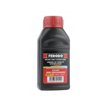 Ferodo  DOT 5.1 - High Performance Road Brake Fluid 1ltr