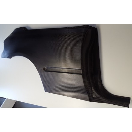 Honda Civic Quarter Panel Carbon/Kevlar