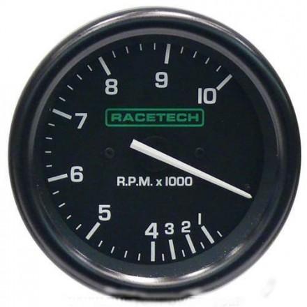 Racetech Tachometer 0-10000 RPM