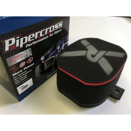 Pipercross Filter Box 190X80 (WH) Internal 65mm Filter Box (C3003)